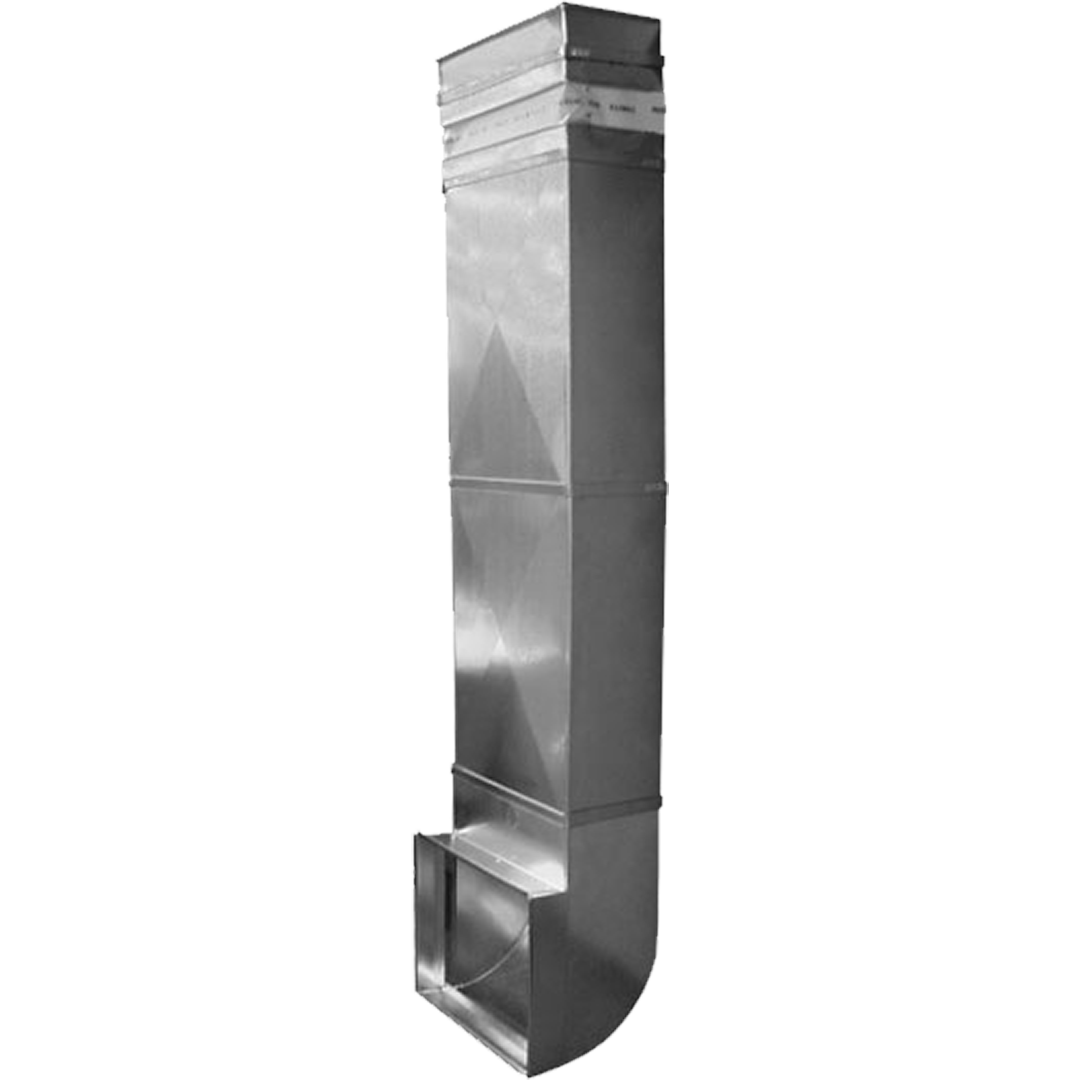 Speedi-Products 10 in. x 3.25 in. x 36 in. Wall Stack Duct